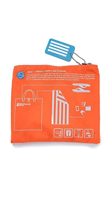 Flight 001 Набор пляжных сумок Go Clean
