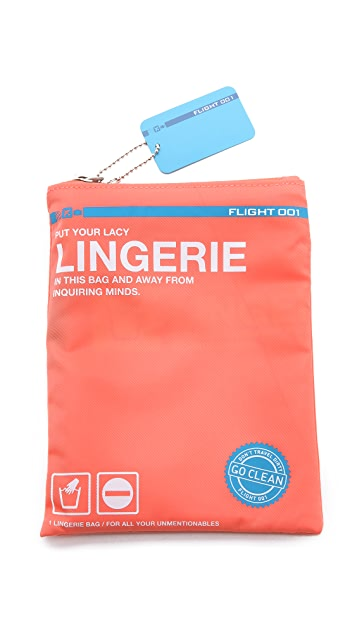 Flight 001 Go Clean Lingerie Bag
