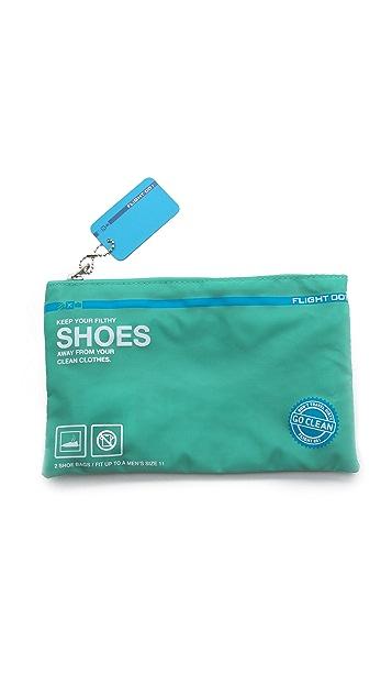 Flight 001 Go Clean Shoe Bag Set