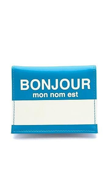 Flight 001 Bonjour Card Case