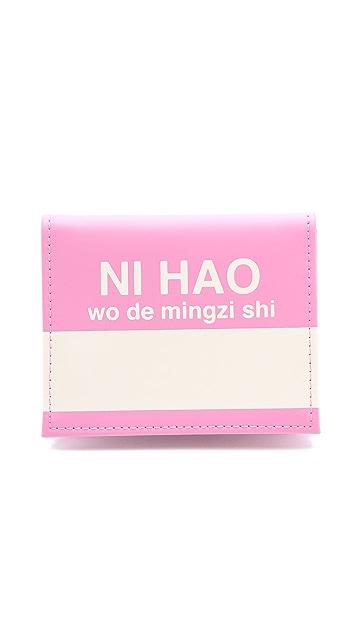 Flight 001 Ni Hao Card Case