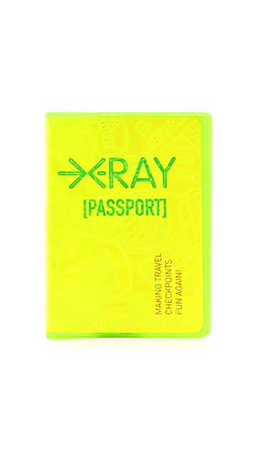 Flight 001 X-Ray Passport Case