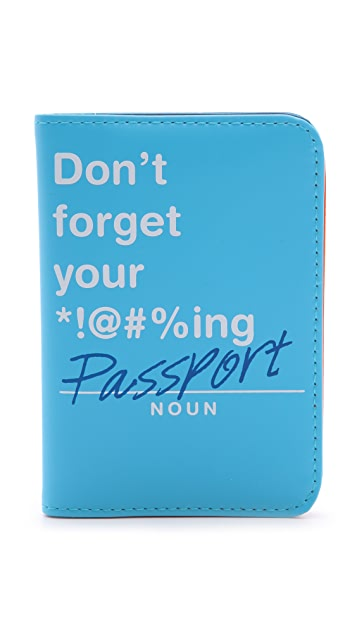 Flight 001 Don't Forget Passport Case