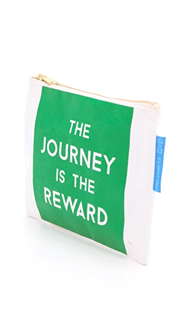 Flight 001 Journey Is the Reward Pouch