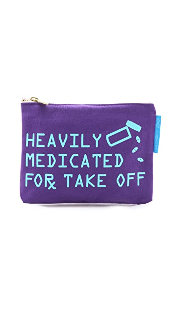 Flight 001 Heavily Medicated Pouch