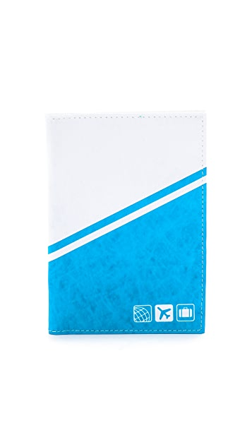 Flight 001 Aeroline Passport Cover