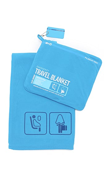 Flight 001 Emergency Travel Blanket