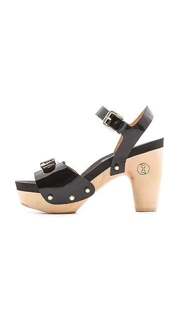 Flogg Fantastic Platform Clog Sandals