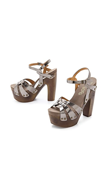 Flogg Rainbow II Metallic Sandals