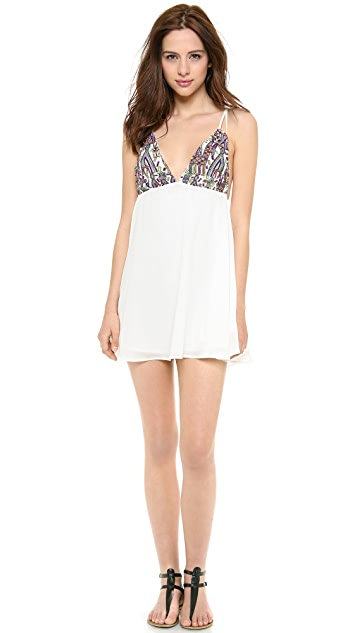 For Love & Lemons San Pedro Mini Dress