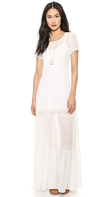For Love & Lemons Sombrero Maxi Dress