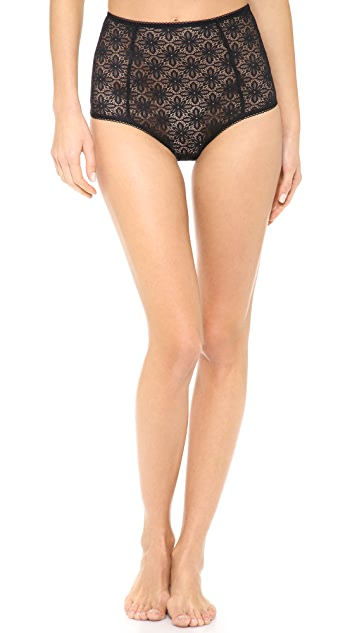 For Love & Lemons Honey Buns High Waist Briefs
