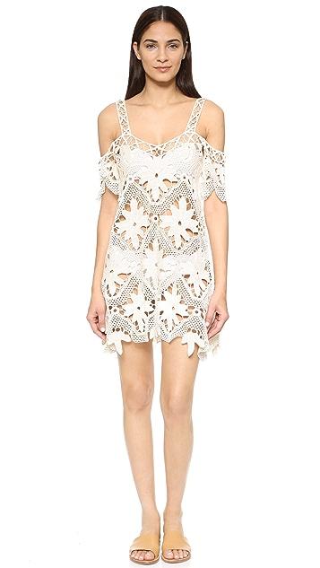 For Love & Lemons Monaco Crochet Cover Up