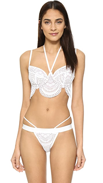 For Love & Lemons Lucia Underwire Bra