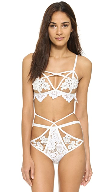 For Love & Lemons Ruby Bralette