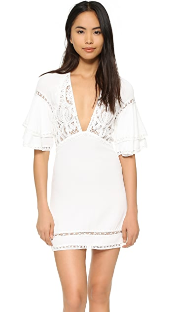 For Love & Lemons Carmine Mini Dress