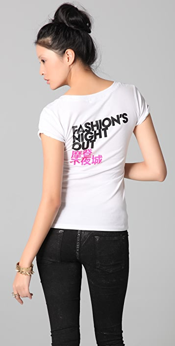 FASHION'S NIGHT OUT China Vogue Fashion's Night Out Tee