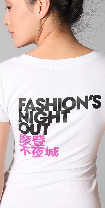 FASHION'S NIGHT OUT China Vogue Fashion's Night Out Tee