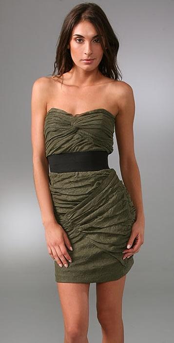 Foley + Corinna Netting Dress