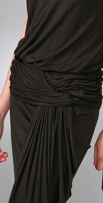 Foley + Corinna Cascade Long Dress