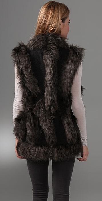 Foley + Corinna Faux Fur Vest