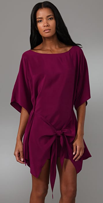 Foley + Corinna Crepe Tie Dress