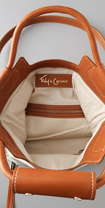 Foley + Corinna Canvas & Leather Mid City Tote