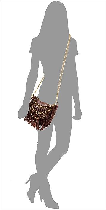 Foley + Corinna Tassel Fringe Cross Body Bag