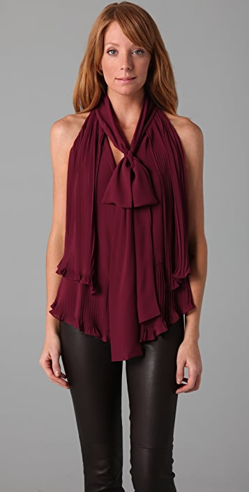 Foley + Corinna Tiered Pleated Blouse
