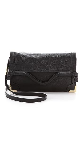 Foley + Corinna Framed Flap Cross Body Bag