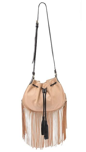 Foley + Corinna Luna Fringe Cross Body Bag