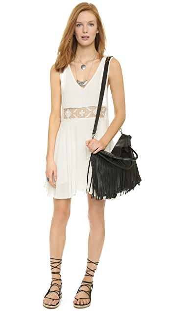 Foley + Corinna Fringed City Tote