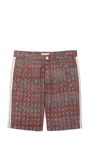 Folk Brick Shorts