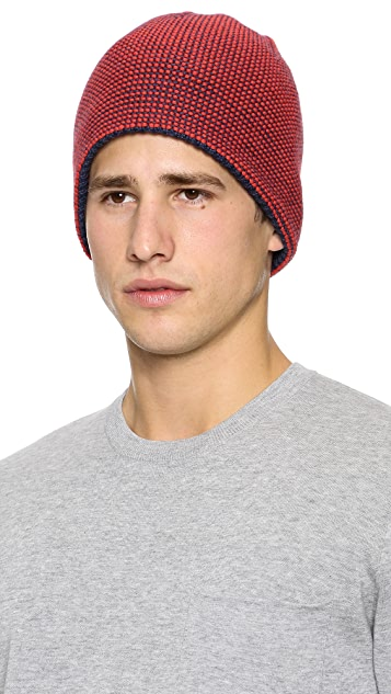 Folk Reverse Knit Hat
