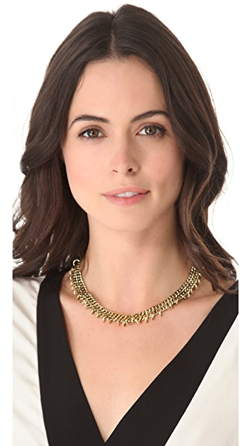 Fortune Favors the Brave Ring Collar Necklace