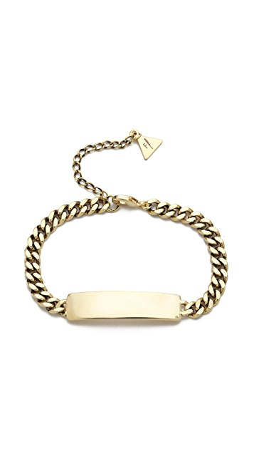 Fortune Favors the Brave ID Bracelet