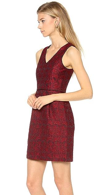 4.collective Lace Sleeveless V neck Dress