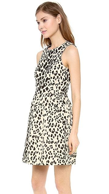4.collective Sleeveless Leopard Flirty Dress