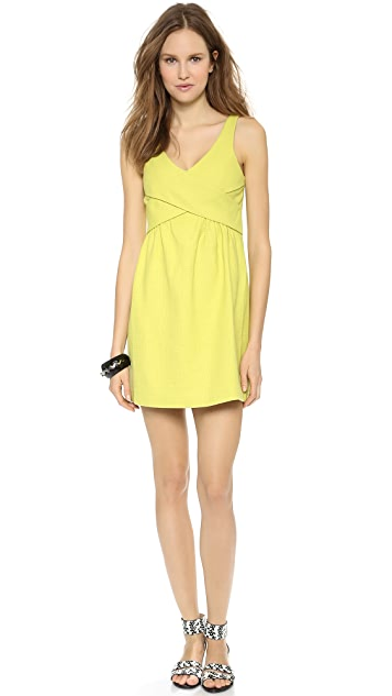 4.collective Cross Wrap Flirty Dress