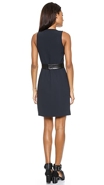 4.collective Sleeveless Wrap Dress