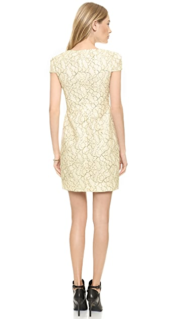 4.collective Cap Sleeve Lace Dress