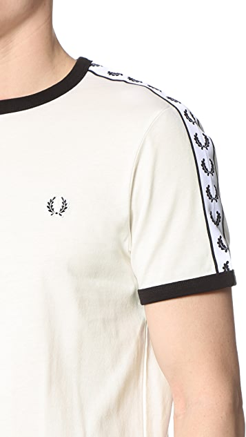 Fred Perry Tape Ringer Tee