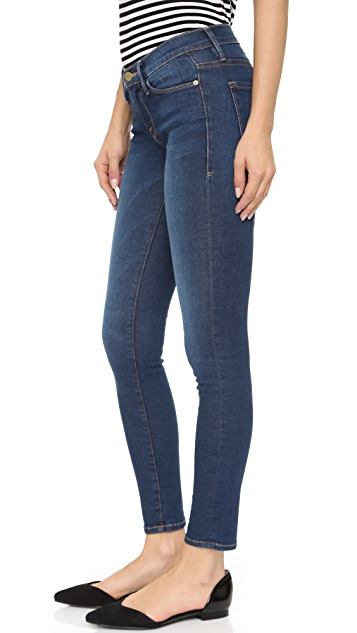 Fake Cheap Price Le Skinny de Jeanne Blue Low Rise Jeans Frame Denim Outlet Great Deals Buy Cheap Best Wholesale Cheap Latest szZepEyNeR