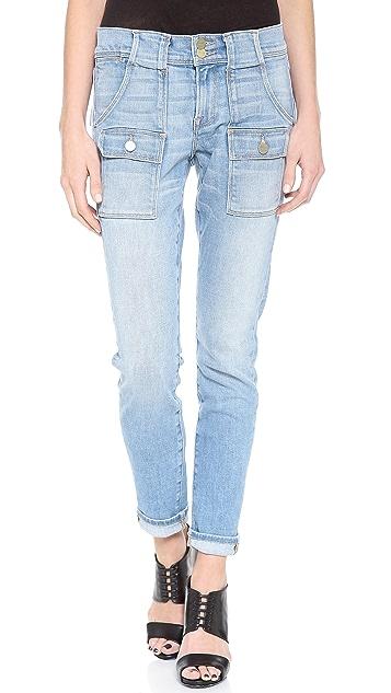 FRAME Le Garcon Patch Pocket Jeans