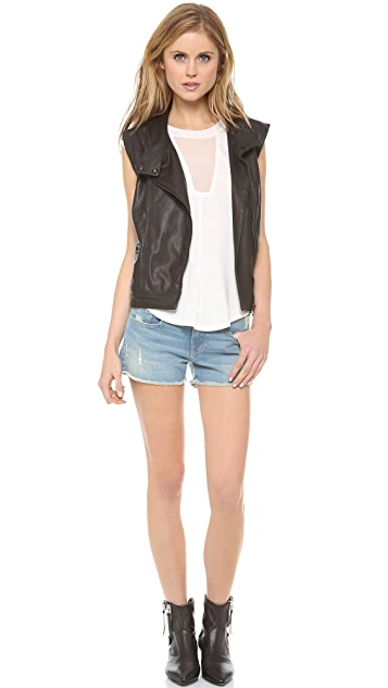 FRAME Le Cut Off Shorts