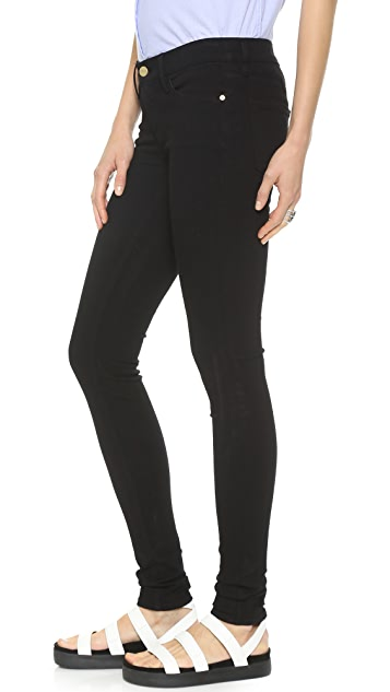 FRAME Le Stacked Skinny Jeans