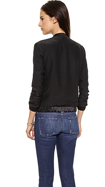 FRAME Le Silk Jacket