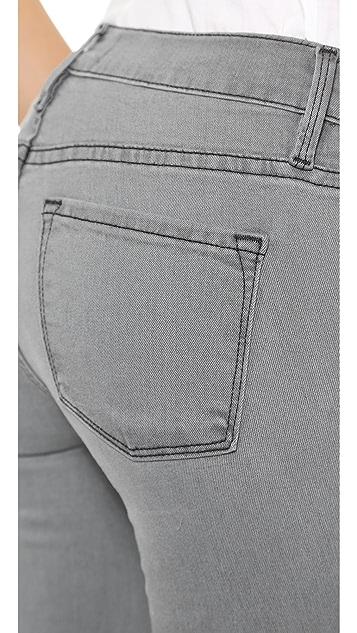 FRAME Атласные джинсы-скинни Le