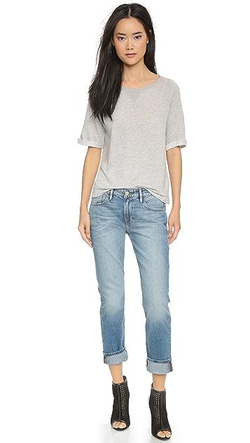 FRAME Le Grand Garcon Boyfriend Jeans