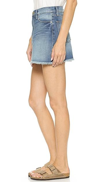 FRAME Le High Rise Miniskirt
